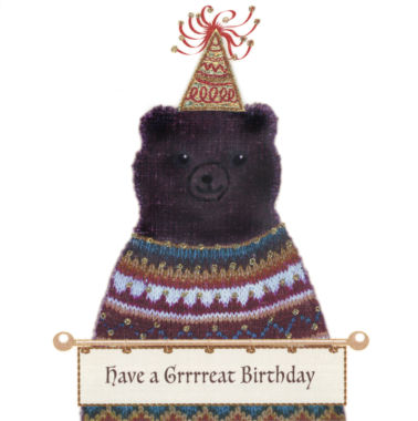 Photography of Bear in a Party Hat