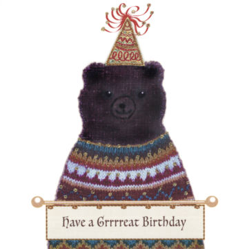 Bear in a Party Hat