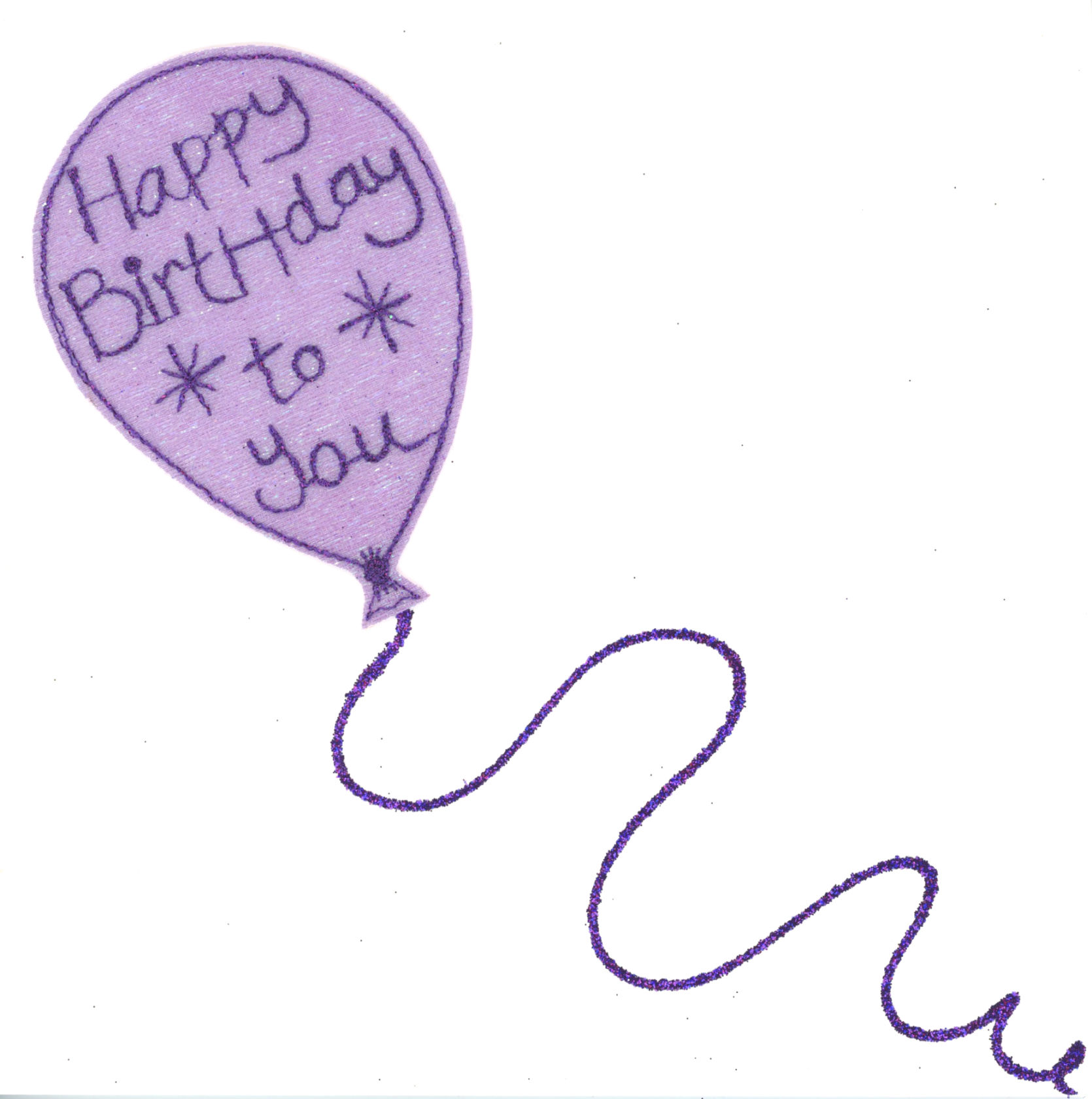 Photography of Happy Birthday Balloon Amethyst