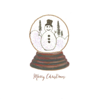 Photography of Snow Globe - Snowman