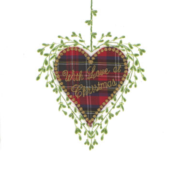 Photography of Mistletoe and Tartan - Christmas Love