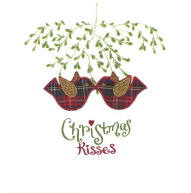 Photography of Mistletoe & Tartan - Kissing Birdies