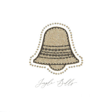 Photography of Gold Sparkling Glitter Bell