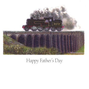 Steam Train on Ribblehead Father's Day