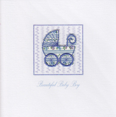 Photography of Vintage Blue Pram