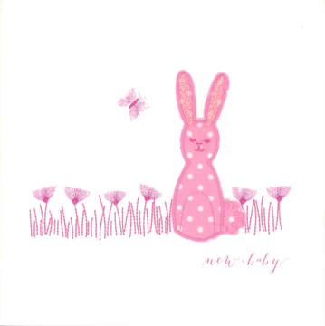 Pink Spotty Rabbit