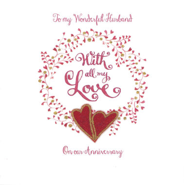 Photography of Anniversary Red Hearts