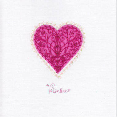 Photography of Pink Filigree Heart