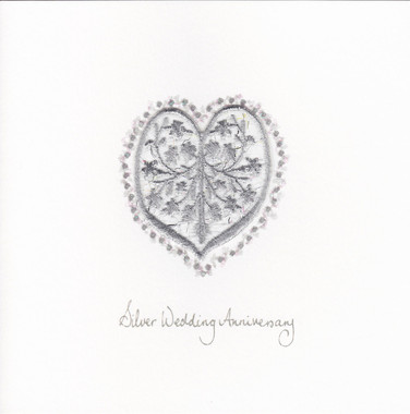 Photography of Silver Jewel Heart