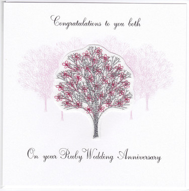 Photography of Ruby Anniversary Tree